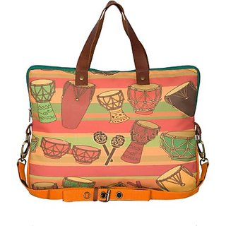The House Of Tara 14 inch Laptop Messenger Bag (Multicolor) HTLB 025