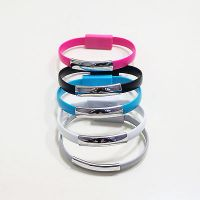 Tech Gear Micro USB To USB Cable Bracelet Charger Data Sync Cord Wristband
