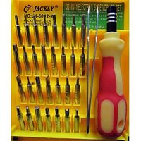 Jackly 6032-A Toolkit 31 In1 Magnetic Universal Tool Kit Repair Mobile Laptop Pc