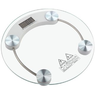 Ezzideals Digital Personal Weighing Scale With Glass Top 6mm