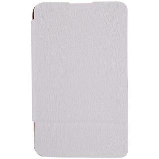 Romito Premium Quality Flip Cover For Nokia Lumia 720- White
