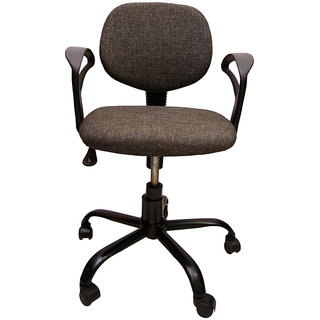Mavi Gray Low Back Office Chair(DOC-608)
