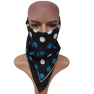 Sushito Funky Black Headwrap   JSMFHHR0232