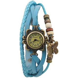 Casual Analog watch for girls skyblue colour