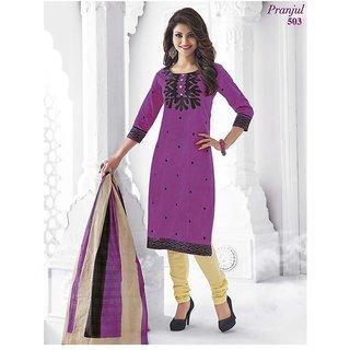 Shree Ganesh Salwar Material 100 cotton