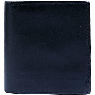 Contra Men Black Artificial Leather Wallet (4 Card Slots) KBH-WW30