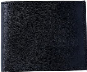 Contra Men Black Artificial Leather Wallet (4 Card Slots) KBH-WW11