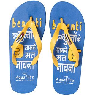 Aquaflite Blue Men Flip Flop D-93