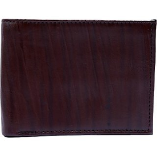 Contra Men Brown Artificial Leather Wallet (4 Card Slots) KBH-WW22 (Synthetic leather/Rexine)