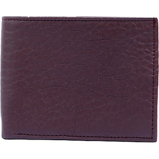 Contra Men Brown Artificial Leather Wallet (4 Card Slots) KBH-WW27 (Synthetic leather/Rexine)