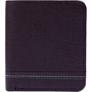 Contra Men Brown Artificial Leather Wallet (4 Card Slots) KBH-WW4