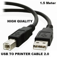 1.5 Meter USB 2.0 A TO B HIGH SPEED PRINTER CABLE CORD