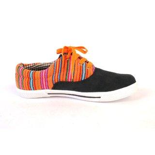 VEDAZZ Citrus Black Sneakers