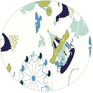 Garmor Designer Circle Shape Mouse Pad