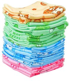 xy decor multicolout cotton face towel
