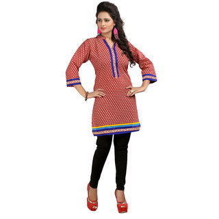 The BrandStand Womens Kurti (KRT6082-Mrn)