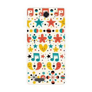 Garmor Designer Plastic Back Cover For Intex Aqua Star HD