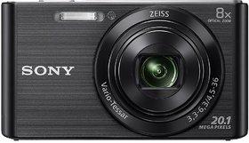 Sony Cyber-shot DSC-W830/BC E32 20.1 MP Point  Shoot Camera(Black)