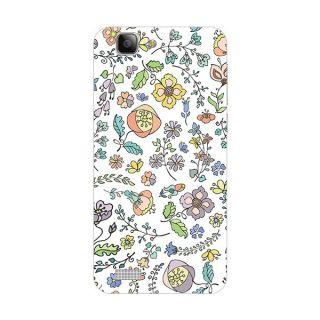 Garmor Designer Plastic Back Cover For Vivo X3S