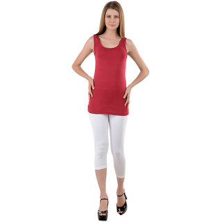 NumBrave Maroon Tank Top