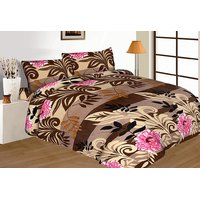Royal Crust New Multi Color Floral Print Double Bed Sheet