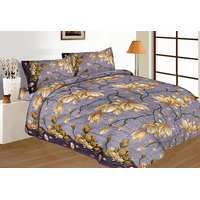 Royal Crust New Multi Color Floral Print Double Bed Sheet Design 2