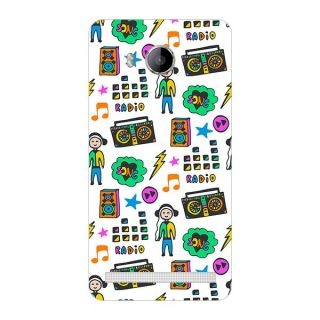 Garmor Designer Plastic Back Cover For Vivo X710