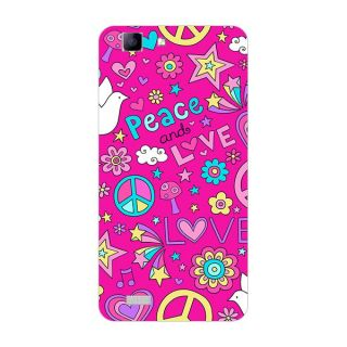 Garmor Designer Plastic Back Cover For Vivo Y27