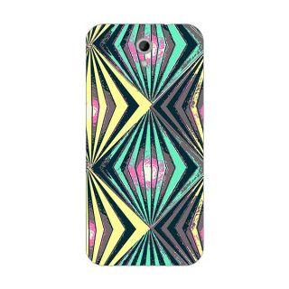 Designer Plastic Back Cover For HTC Desire 620