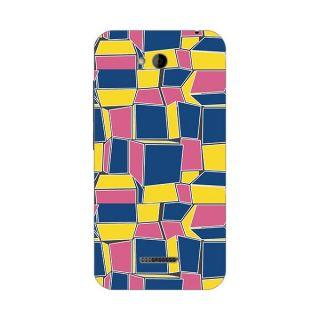 Designer Plastic Back Cover For HTC Desire 616
