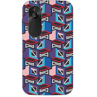 Designer Plastic Back Cover For HTC Desire V