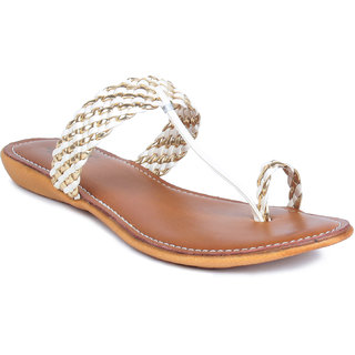 MSC Silver Casual Fabric Womens Footwears