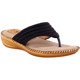 MSC Women's Black Flats