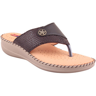 MSC Bronze Casual Leather Womens Footwears