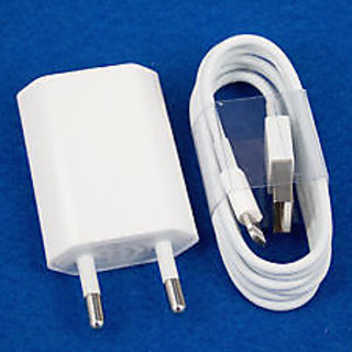 USB Wall Adapter iPhone 4s Orignal Charger Ups Data Cable