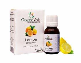 Organo Veda  Lemon  Esssential Oil, 15ml