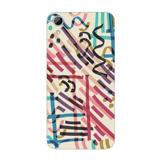 Designer Plastic Back Cover For HTC Desire 826