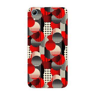Designer Plastic Back Cover For HTC Desire 826