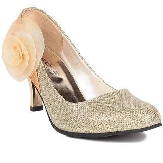 MSC Women's Gold Heels