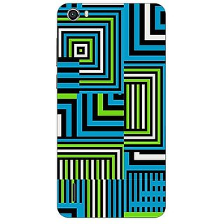 Designer Plastic Back Cover For Huawei Honor 6
