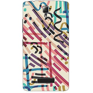 Designer Plastic Back Cover For Lenovo A2010