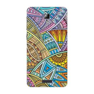 Designer Plastic Back Cover For Lenovo S660