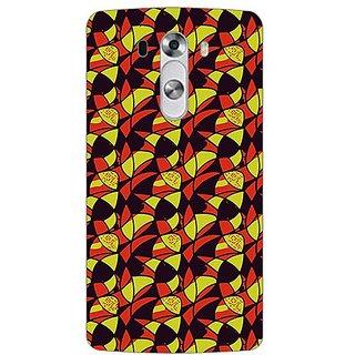 Designer Plastic Back Cover For LG G3 Stylus