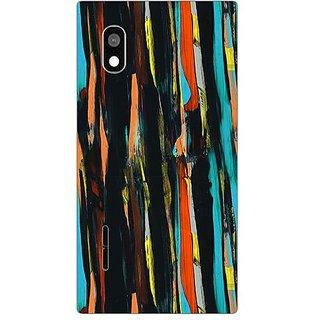 Designer Plastic Back Cover For LG L90 D405