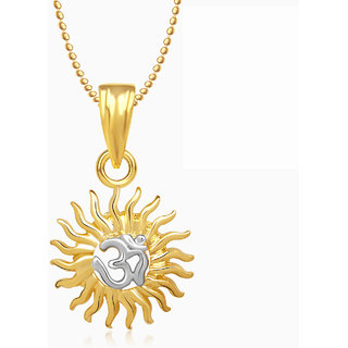 Meenaz gold plated gold pendants chains for women buy meenaz gold meenaz gold plated gold pendants chains for women mozeypictures Gallery