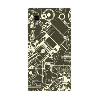Designer Plastic Back Cover For LG Optimus L9 P760