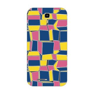 Designer Plastic Back Cover For Micromax A77 Canvas Juice