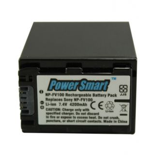 Power Smart NP-FV100 4200mAh Camera Battery Image