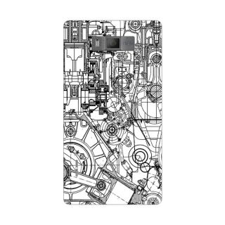 Designer Plastic Back Cover For LG Optimus L7 P700