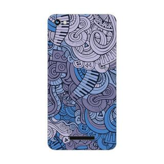 Designer Plastic Back Cover For Micromax Canvas Hue A316